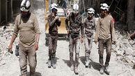 فرار کلاه سفیدها از سوریه