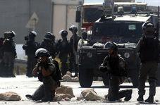 لحظه تیر خوردن خبرنگار زن توسط نظامیان اسرائیلی!