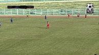 خلاصه بازی سرخپوشان پاکدشت 1 - 0 داماش گیلان