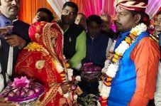 تصمیم عجیب عروس  و داماد در جشن عروسی!