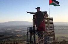 رونمایی از تندیس شهید قاسم سلیمانی در مرز لبنان با فلسطین