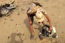 سرنگونی هواپیمای جاسوسی سعودیها در یمن!