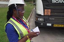 شرکت کامیونداران زن در غنا