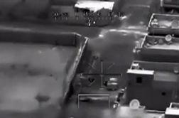 فیلم ادعایی از لحظه اصابت موشک به خودروی حامل سردار سلیمانی