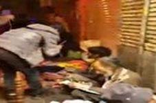 بساط دستفروشان در خیابان ۱۵ خرداد با وجود بیماری کرونا!