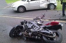 تصادف وحشتناک حین دور زدن بیجا در خیابان