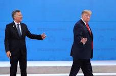جدیدترین گاف ترامپ که همه را به خنده انداخت!