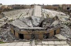 """قبر تخریب شده صدام در """"العوجه"""" عراق"""