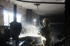 آتش سوزی بزرگ در پامنار تهران