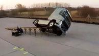 قدرت نمایی شرکت ولوو در تولید خودروهایی که هرگز واژگون نمیشوند