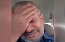 گریه رئیس شورای شهر اهرم بخاطر کرونا