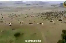 شلیک ۴۰۰ راکت در ۲۰ ثانیه در رزمایش ارتش