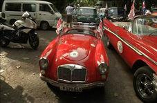رالی خودروهای کلاسیک در کوبا