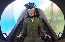 تمرینات طاقت فرسای خلبانان در زیر آب + فیلم