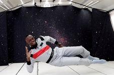 سریعترین مرد جهان چطور در فضا میدود؟