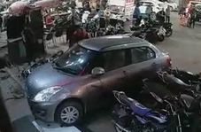 له کردن یک مرد در پارکینگ توسط راننده ناشی