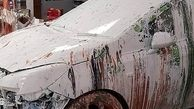 فاجعهای که راننده ایرلندی در فروشگاه رنگ به بار آورد