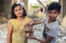 مقایسه این کودکان معصوم با کفتارهای صهیونیست