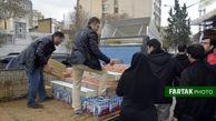ارسال کمکهای اتاق اصناف و بازاریان خیر کرمانشاه به مناطق سیل زده لرستان