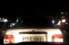 تعقیب و گریز پلیس آگاهی با پراید در افسریه تهران