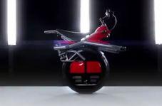 موتورسیکلت قابل شارژی که با یک چرخ کار میکند