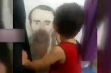 دردودل دختر شهید ناجا با عکس پدرش؛ رفتی کجا بابایی؟