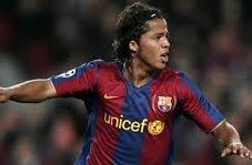 هت تریک دوس سانتوس با پیراهن بارسلونا