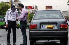 برخورد پلیس با راکبانی که برای دور زدن قانون دست به هرکاری میزنند