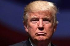 کتک زدن مجسمه ترامپ در نمایشگاهی در چین
