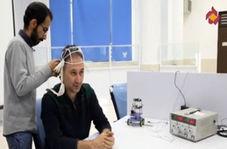تست تمرکز مغزی برای حرکت دادن ماشین در برنامهای تلویزیونی