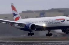 مسافران هواپیما هنوز سوار نشده سقوط کردند
