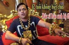 خودنمایی مرد ویتنامی با جواهرات 13 کیلویی!