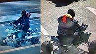 آسیب دیدن یک پلیس حین دستگیری راننده موتور چهار چرخ