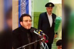 گریه قاری ایرانی هنگام تلاوت آیات ۲۳ و ۲۴ سوره اسراء