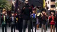چهره کارتونی مداح معروف در انیمیشنی با مضمون مسیر اربعین
