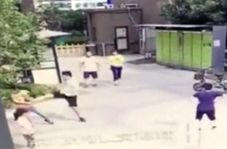 واکنش غیرمعقول پدر چینی به عمل غیرعامدانه کودک!