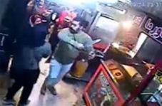 حمله اوباش با شمشیر به یک ساندویچی در آبادان