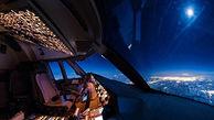 تیکآف هواپیمای مسافربری از درون کابین خلبان!