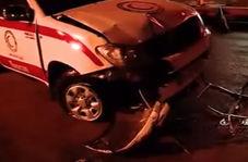 تصادف زنجیرهای و فاجعهای که گازوئیل یک کامیون ایجاد کرد