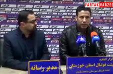 فیلم/ صحبت های تارتار قبل از دیدار با ذوب آهن اصفهان