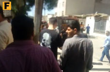 فیلم/  انفجار گاز شهری در کیان آباد اهواز