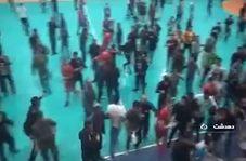 قمه کشی در لیگ برتر هندبال کشور!