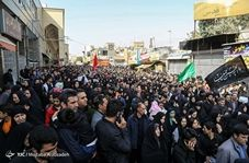تصاویر هوایی از راهپیمایی جا ماندگان اربعین در تهران