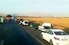 ماجرای ماشینهای پنچر شده در اتوبان قزوین!