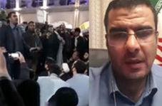 واکنش مداح مشهدی به انتشار فیلم سخنرانیاش برای معترضان بسته شدن به حرم