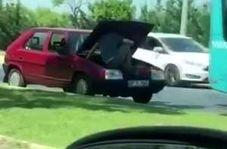 رانندگی در جنون آمیزترین شیوه ممکن