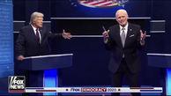 مناظره جو بایدن و دونالد ترامپ/ جیم کری وارد میدان شد+ فیلم