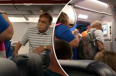 بیرون کردن مسافر از هواپیما تنها به خاطر یک تذکر + فیلم