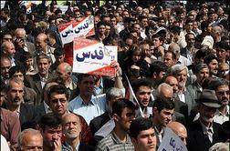 خروش عظیم مردم سمنان در حمایت از آرمان فلسطین