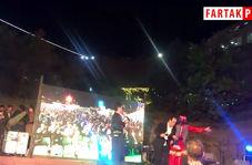 رقص کوردی مجری معروف در برج میلاد